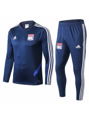 Tuta blu royal Olympique Lyon 2019-2020