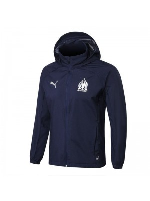 Olympique Marseille Royal Blue Windrunner Jacket 2018/2019