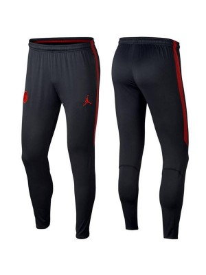 Pantaloni da allenamento Paris Saint Germain Jordan Red Logo 2018-2019
