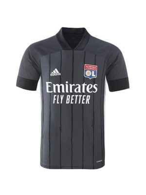 Olympique Lyon Away Football Shirt Mens Soccer Jersey 2020-2021