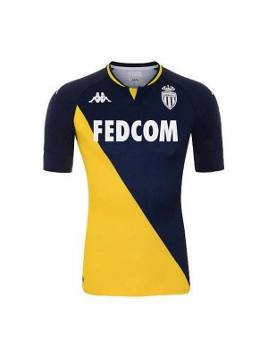 AS Monaco Away Soccer Jerseys Mens Football Shirts Uniforms 2020-2021
