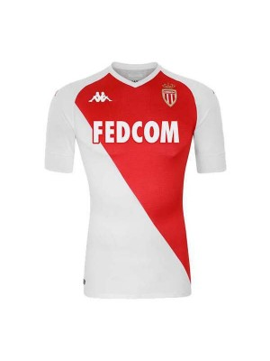 AS Monaco Home Soccer Jerseys Mens Football Shirts Uniforms 2020-2021