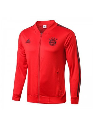 Bayern Munchen Red V-neck Jacket 2018/2019