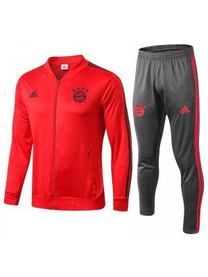 Bayern Munchen Red Tracksuit Jacket Pant 2018/2019
