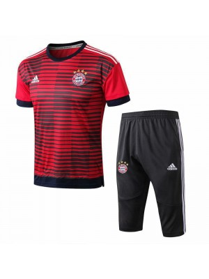 Bayern München Men Red Short Training Suit Kit 2018/2019