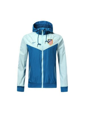 Atletico De Madrid Lake Blue Windrunner Jacket 2018/2019