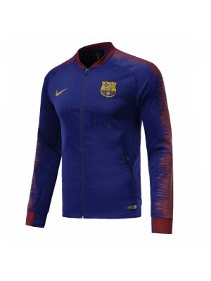 Barcelona Blue Printed Sleeve Jacket 2018/2019