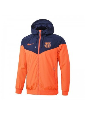 Barcelona Windrunner Orange Jacket 2018/2019