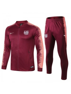 Barcelona Red Printed Sleeve Tracksuit 2018/2019