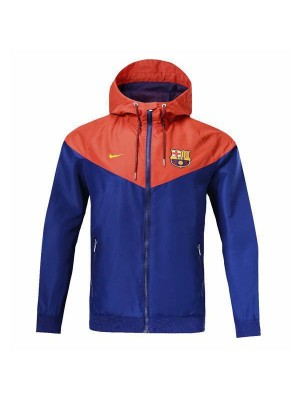 Barcelona Windrunner Jacket Blue Red 2018/2019