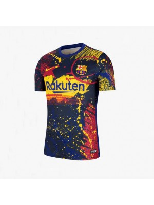 Barcelona Pre Match Coloful Soccer Jersey 2019-2020