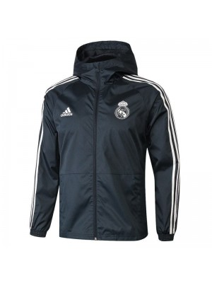 Real Madrid Dark Gray Windrunner 2018/2019