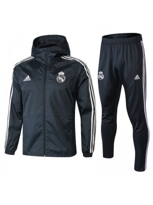 Real Madrid Drak Gray Windrunner+Pant 2018/2019