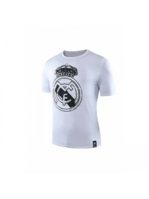 Camicia girocollo bianca Real Madrid 2019
