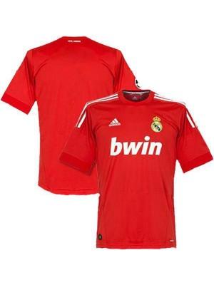 Real Madrid Home Cristiano Ronaldo Retro Jersey Rosso 2012