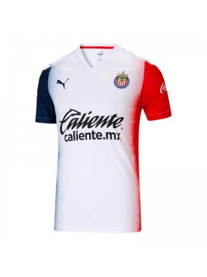 Chivas Guadalajara Away Soccer Jerseys Mens Football Shirts Uniforms 2020-2021