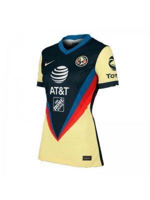 Club America Home Women Soccer Jerseys Female Football Shirts Uniforms 2020-2021