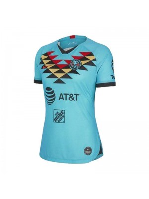 Club America Third Women Soccer Jerseys Female Football Shirts Uniforms 2020-2021