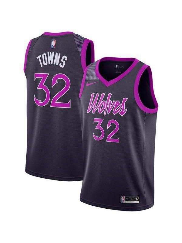 check out 04d93 72394 Minnesota Timberwolves Karl Anthony Towns 32# Jersey Black ...
