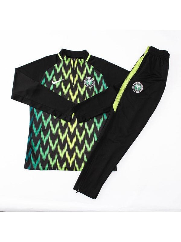 2018 World Cup Nigeria Black Tracksuit