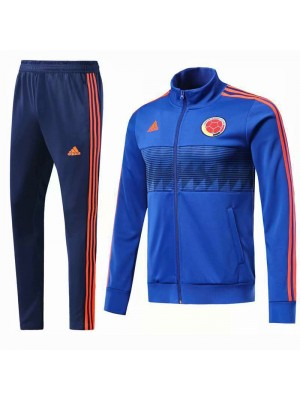 Colombia Blue Tracksuit 2018/2019