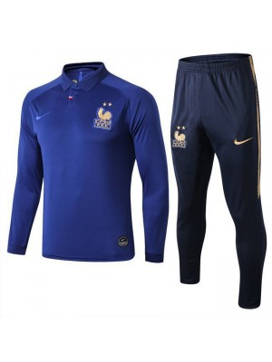 France 120th Anniversary Royal Blue Tracksuit 2019-2020
