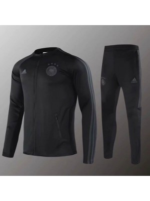 Germany National Team Black Gray Jacket Kit 2019-2020