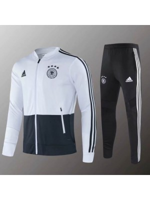 Germany National Team White Gray Jacket Kit 2019-2020