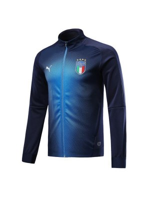Italy Giacca Blu 2018/2019