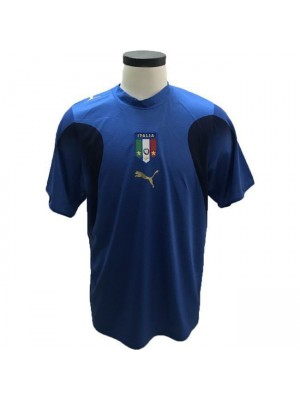 Italy Home Retro Football Shirt Champions Edition 2006