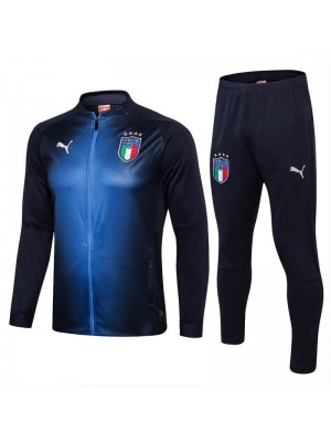 Italy Royal Blue Soccer Tracksuit 2018/2019