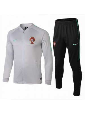 Portugal Light Gray Tracksuit 2018/2019