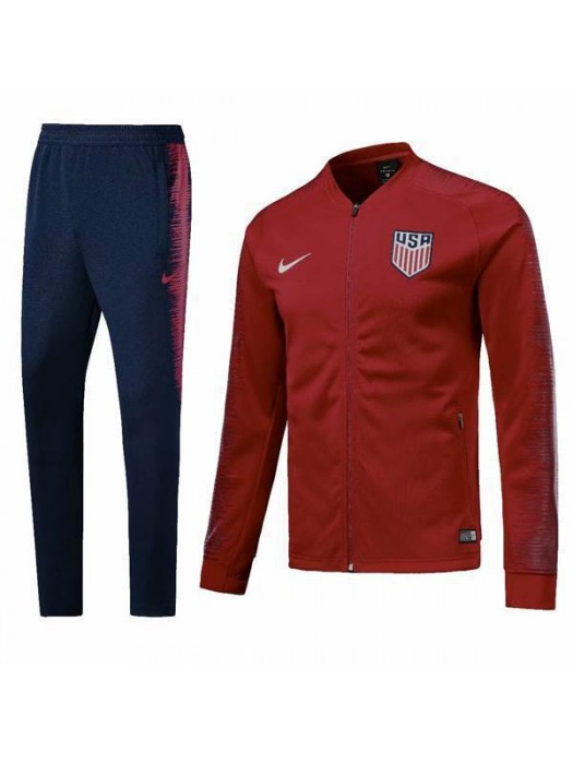 United States America Red Tracksuit 2018/2019