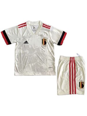 Belgium Away Kids Kit Soccer Children Football- Youth Uniforms 2020