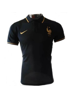 France Black Polo gold logo 2019