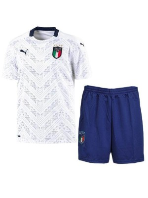 Italy Away Kids Football Kit Euro 2020 Soccer Jersey