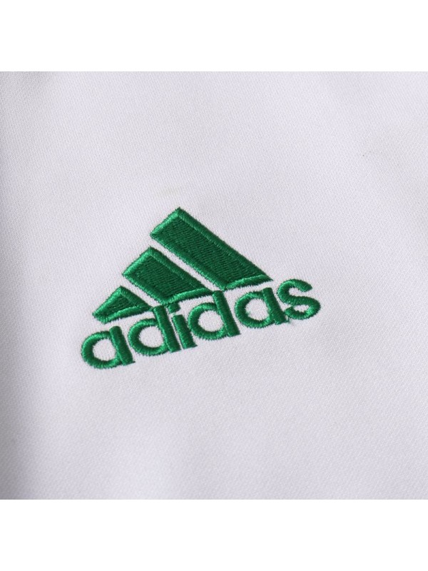 Celtic Long Zipper White Football Jacket Tracksuit Sportswear Soccer Training Wear 2020-2021