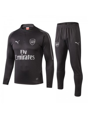 Arsenal Gray Soccer Tracksuit 2018/2019