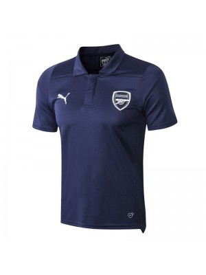 Arsenal Royal Blue Polo Shirt 2018/2019