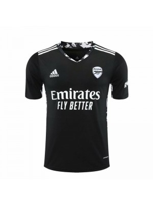 Arsenal Goalkeeper Black Soccer Jersey Match Mens Sportwear Football Shirt 2020-2021