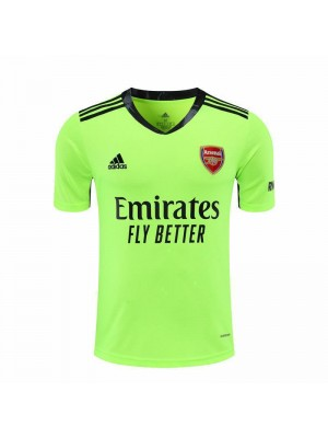 Arsenal Goalkeeper Green Soccer Jersey Match Mens Sportwear Football Shirt 2020-2021