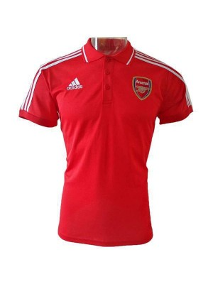 Arsenal Polo Football Training Jersey Soccer Red Sportwear T-shirt 2019