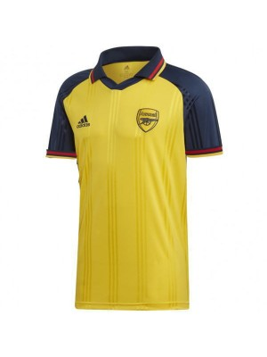 Arsenal Polo Jersey Football Training Jersey Yellow Soccer Teal Sportwear T-shirt 2019-2020