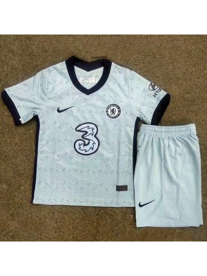 Chelsea Away Soccer Jersey Kids Football Kit Youth Uniforms 2020-2021