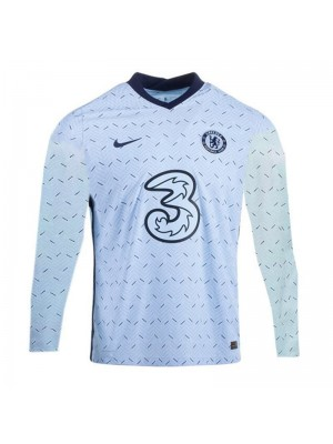 Chelsea Away Long Sleeve Football Shirts Mens Soccer Jerseys 2020-2021