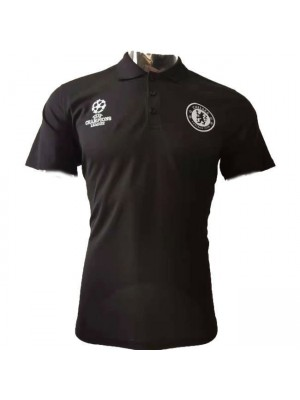 Chelsea Champions League Version Black Polo 2020