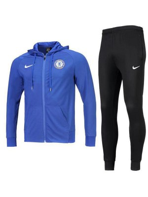Chelsea Jacket Hoodie Jacket Long Zipper Blue 2019-2020