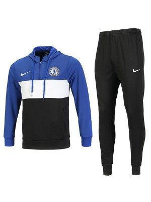 Chelsea Jacket Hoodie Zipper Neck Kit Blue 2019-2020