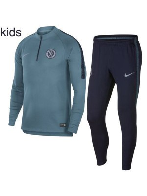 Chelsea Kids Tacks Kit Teal collo con cerniera 2019-2020