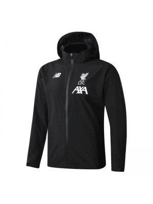 Liverpool Black Soccer Windrunner 2019-2020